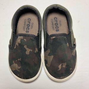 Crocs Camo Slip Ons